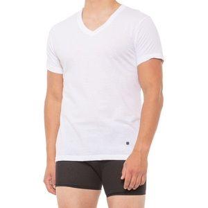 Lucky Brand V-Neck T-Shirts 3 Pack Size Medium